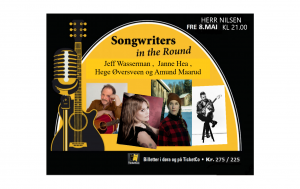Songwriters in the Round: Hege Øversveen, Janne Hea, Amund Maarud og Jeff Wasserman